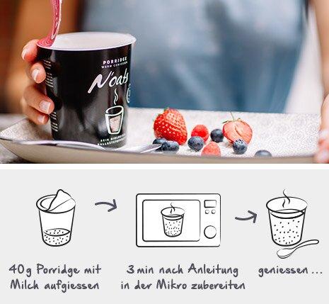 porridge zubereitung mymuesli. Black Bedroom Furniture Sets. Home Design Ideas