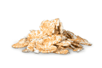 Barley flakes add to muesli.