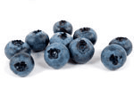 Blueberries add to muesli.